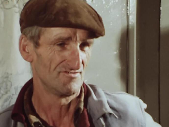 1974 : pour se chauffer, rien ne vaut la bouse de vache !   INA